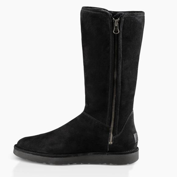 NEW UGG Aubree Tall Zipper Boots